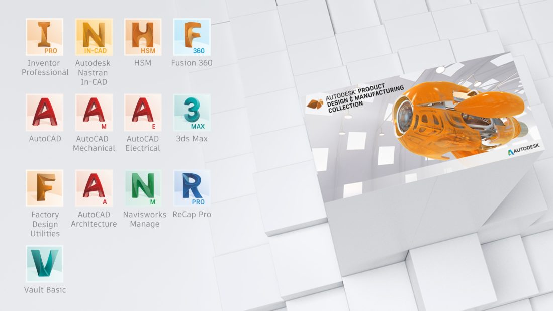 Autodesk's Product Design & Manufacturing Collection