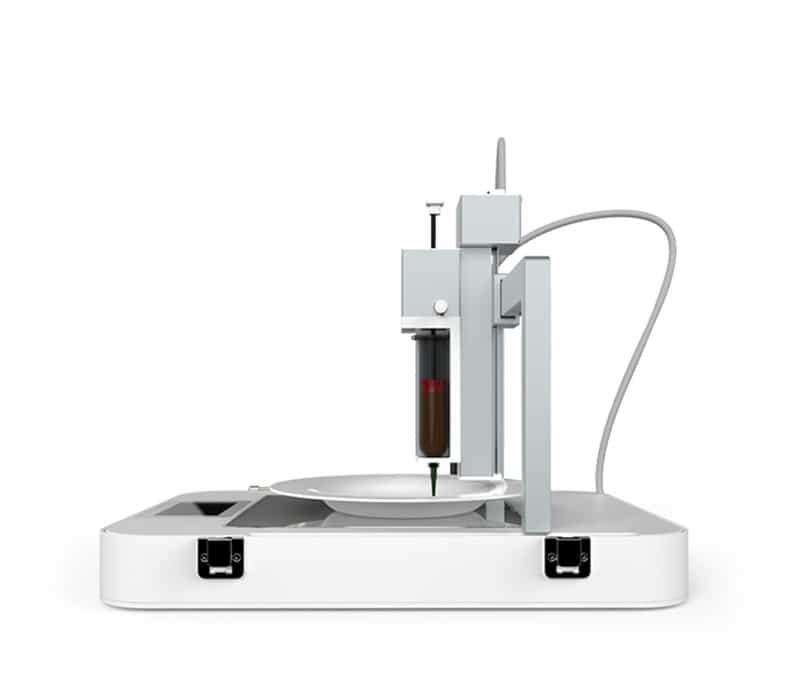 The ByFlow Focus 3D Food Printer