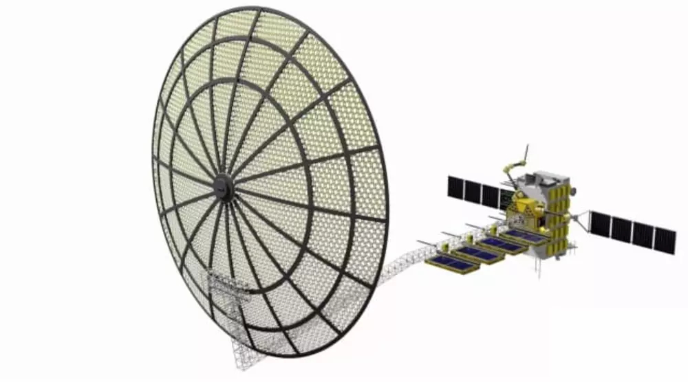 , One Small Step for 3D Printing Satellites in the Vacuum of Space