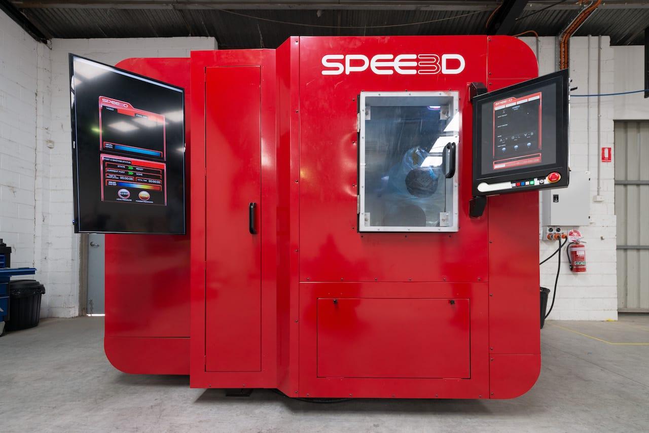 Spee3D Develops Yet Another Way to 3D Print Metal