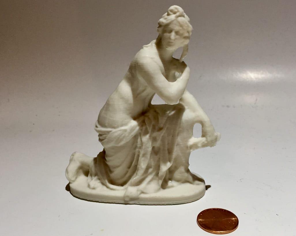 Another stunning figurine 3D print using Fiberlogy's PLA Mineral filament
