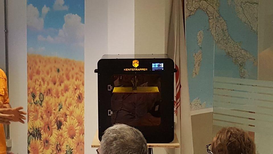 Kentstrapper Upgrades to the Zero 2 3D Printer