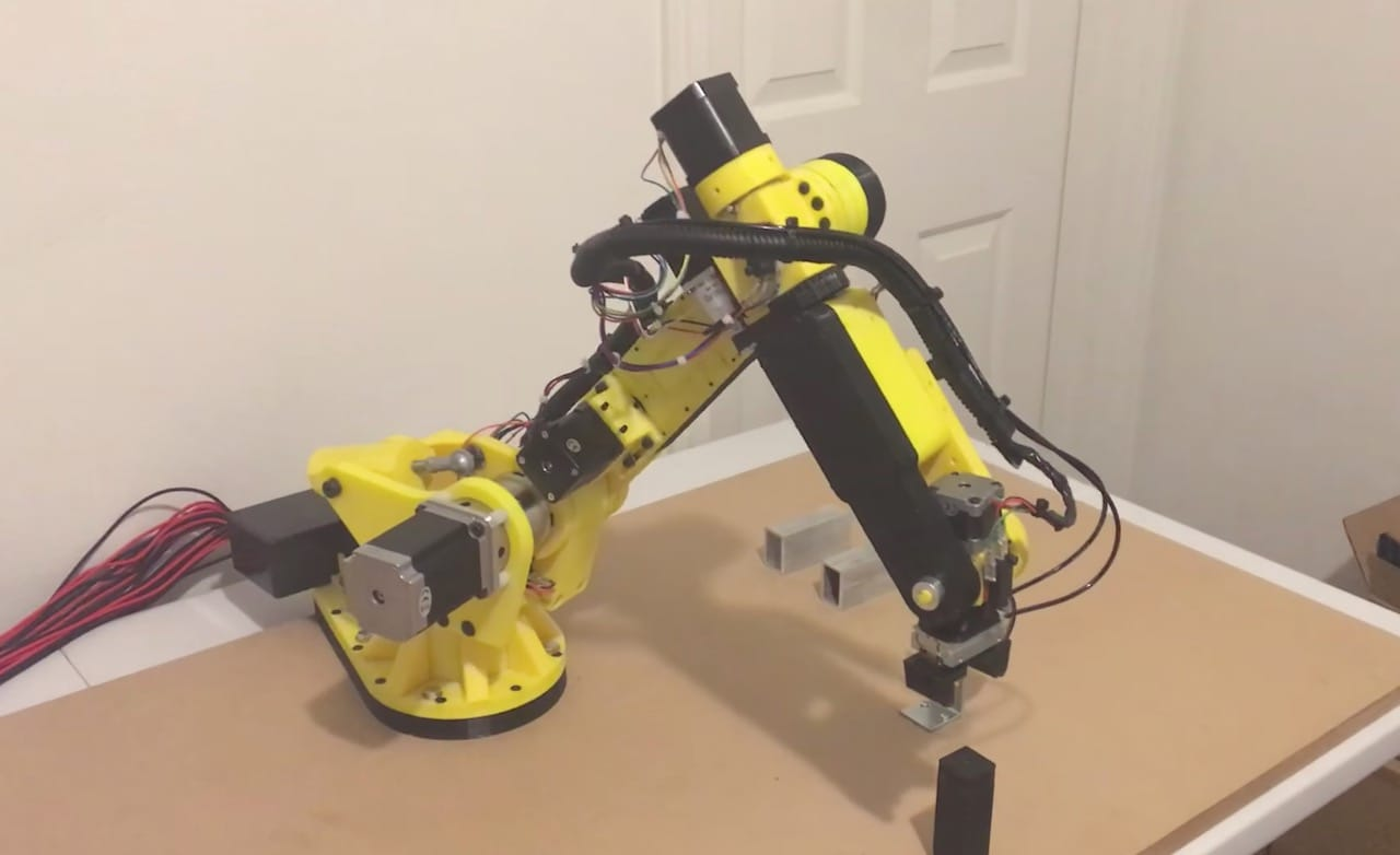 Design of the Week: Six Axis Robot Arm