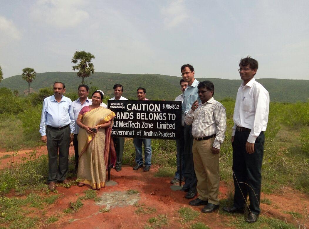 The future site of India's AMTZ medical device development facility
