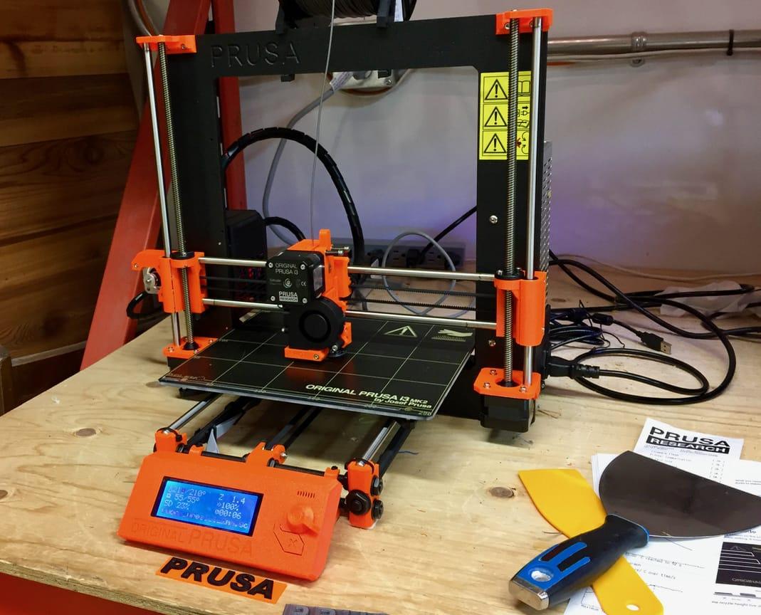 Hands on with the Original Prusa i3 Desktop 3D Printer
