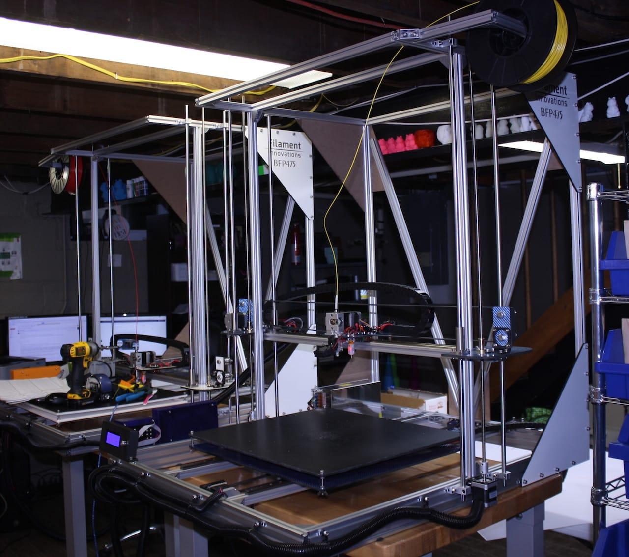 The BP475 Large Format Desktop 3D Printer: Made With Carbon Fiber