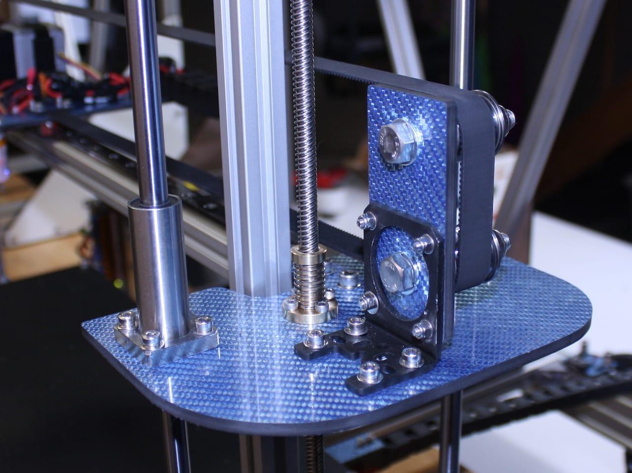 Carbon fiber components on the BP475 desktop 3D printer