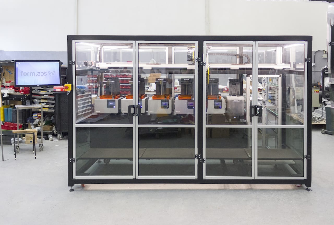 Formlabs Also Announces Robotic Production System