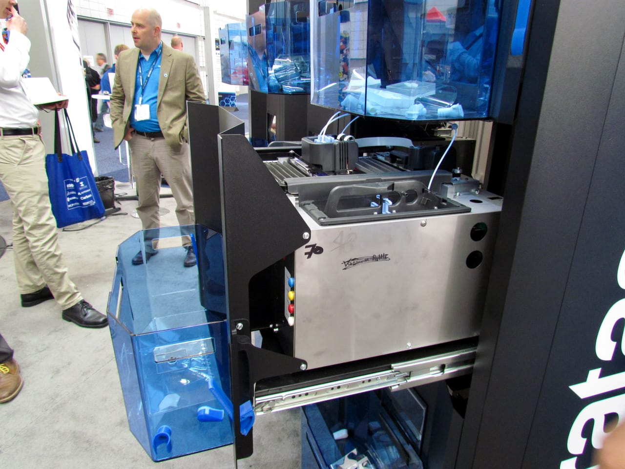 , Inside the Stratasys Continuous Build Demonstrator