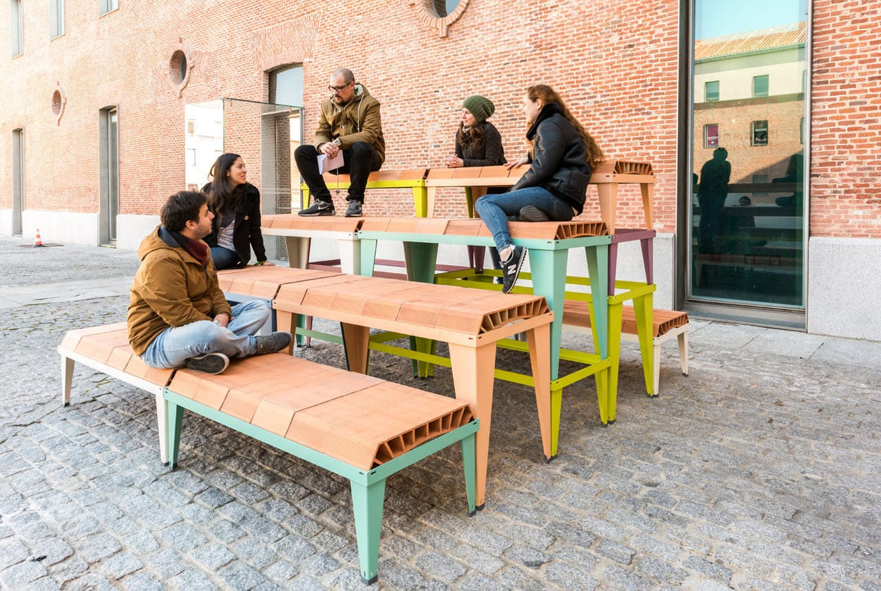 Some folks testing ceramic-extruded furniture
