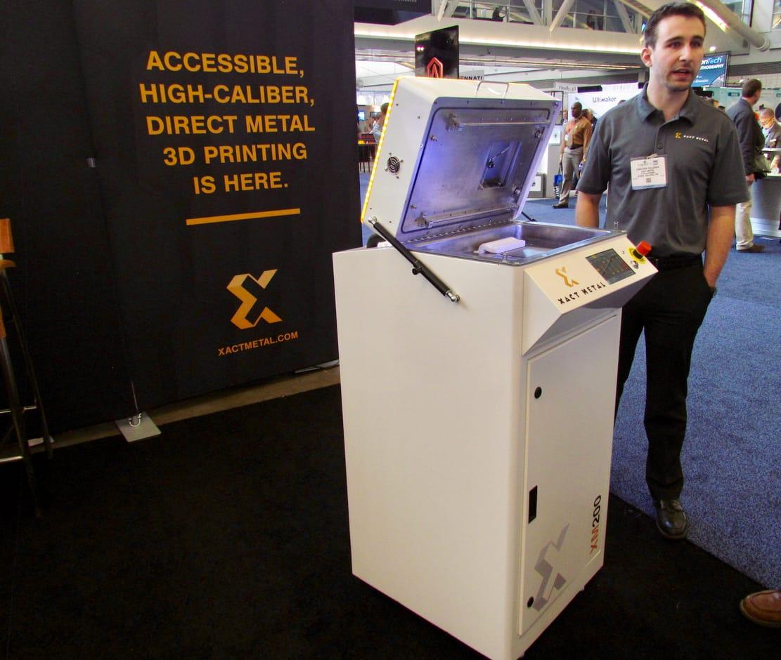 , A Very Inexpensive 3D Metal Printer from Xact Metal