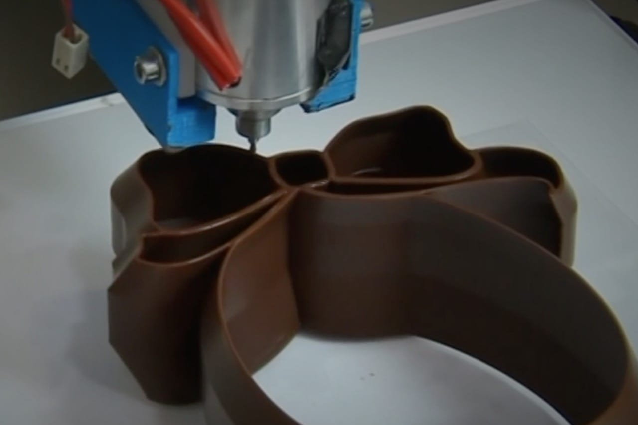 A Chocolate 3D Printing Breakthrough?