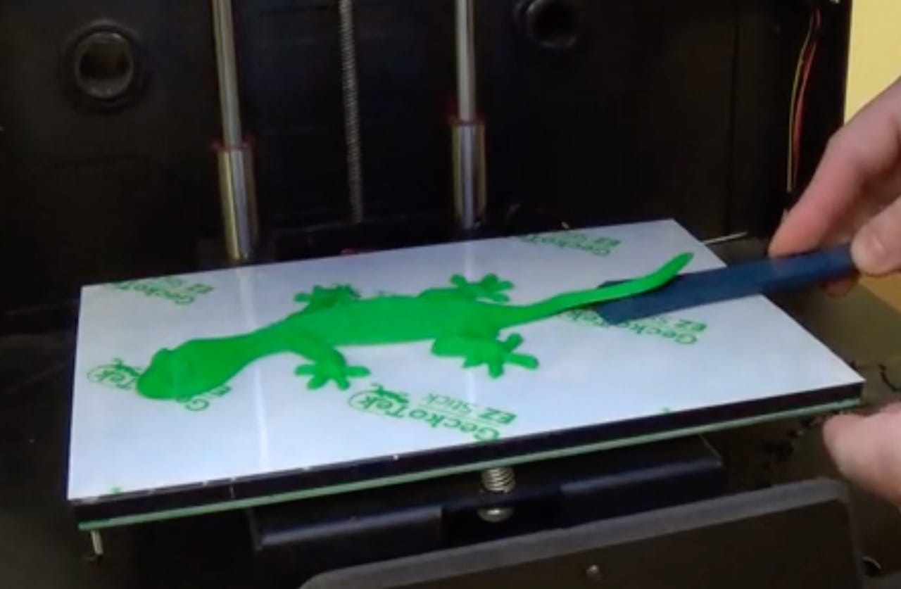 GeckoTeck Offers an Easy 3D Print Surface Adhesion Solution