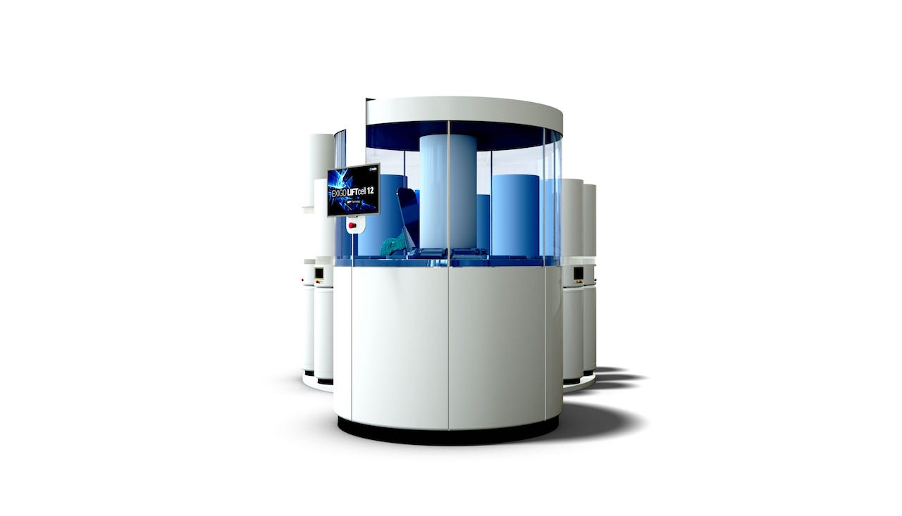 The Fascinating LIFTcell 3D Print Automation System