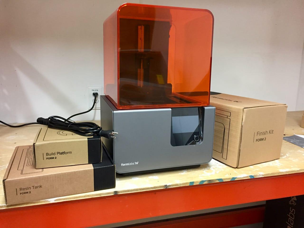 Hands on with the Form 2 Desktop 3D Printer, Part 1