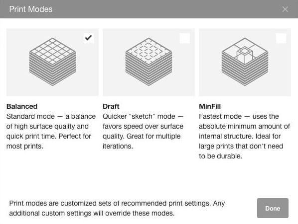 ", Checking Out MakerBot's New ""MinFill"" Option"