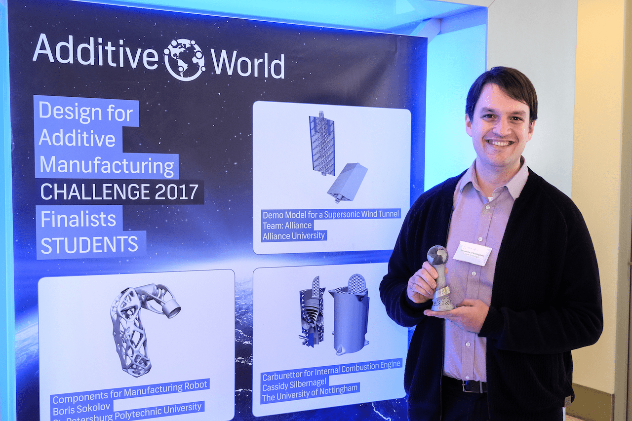 , Many Interesting 3D Printing Projects Proposed at the Design for Additive Manufacturing Challenge 2017