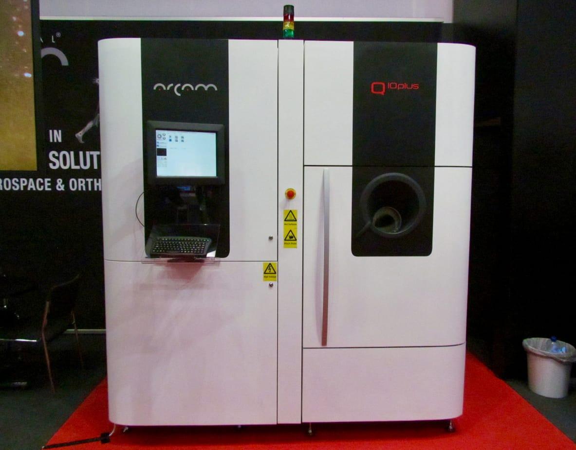 One of Arcam's powerful 3D metal printers