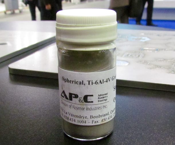 Metal powder used in Arcam's 3D metal printing systems