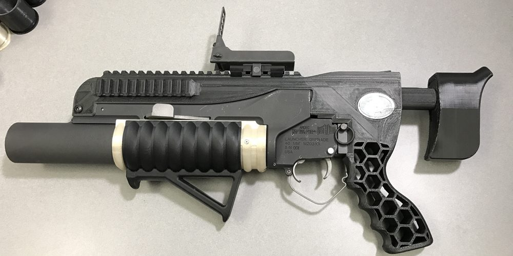 The US Army's 3D Printed Grenade Launcher Raises Questions