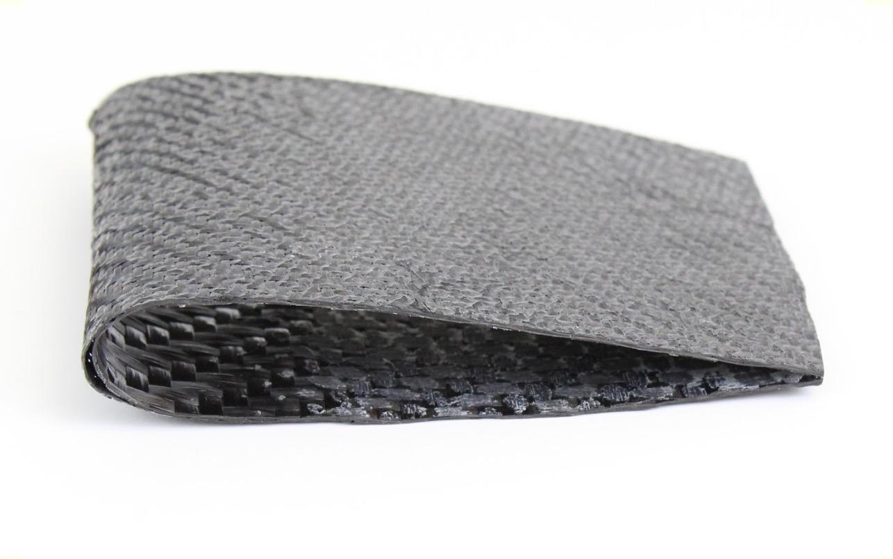 A test carbon fiber wing using E3D-ONLINE's soluble mould process