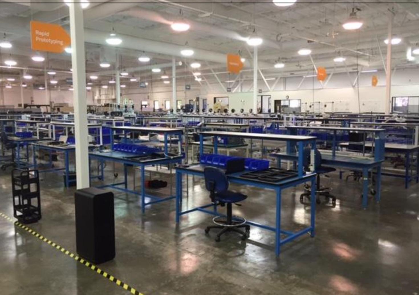 A peek inside BriteLab, where Type A Machines will have their desktop 3D printers built