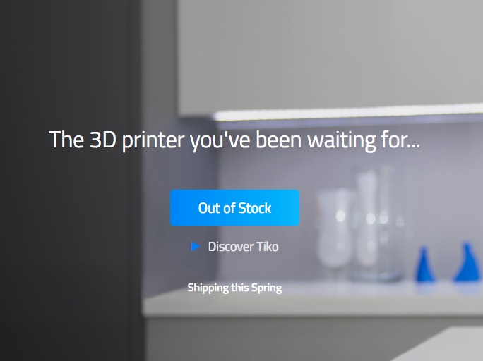 Tiko 3D's site speaks the truth
