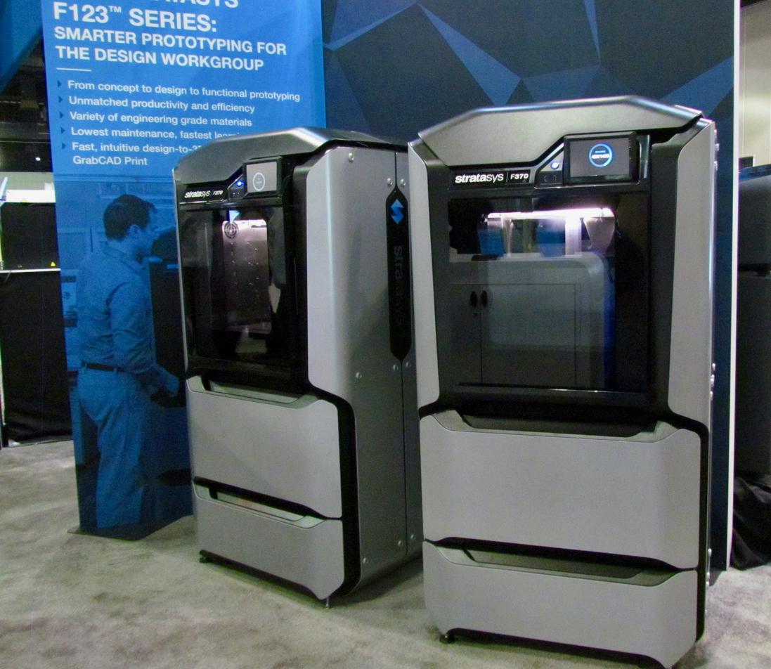 Stratasys' New F123 Series Make 3D Print Operations Far Easier