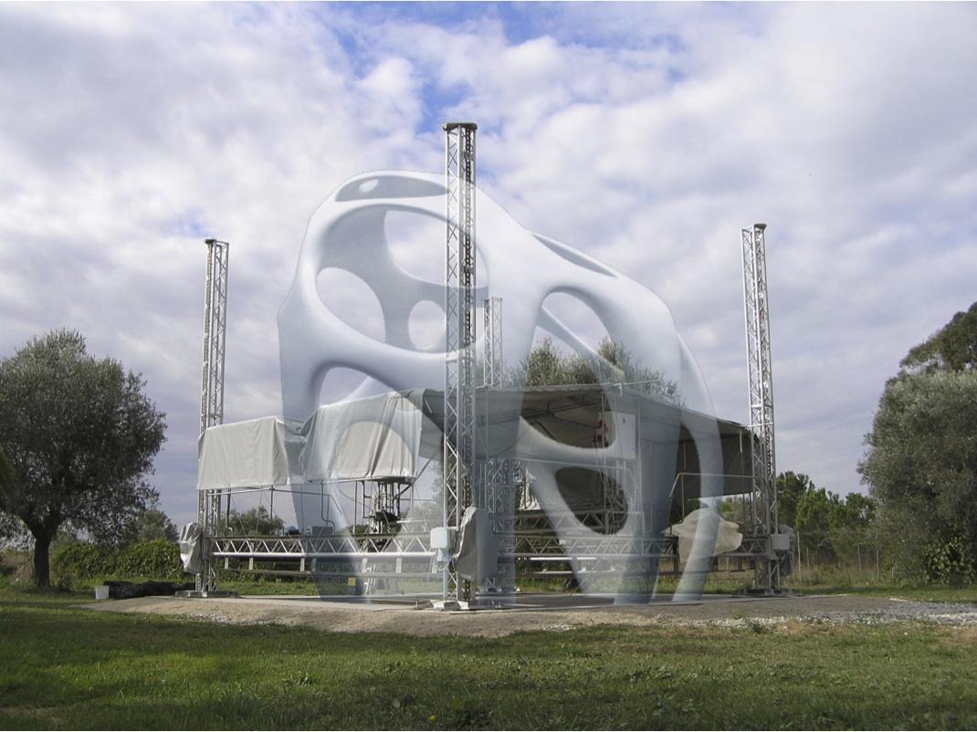 A 3D printed construction concept