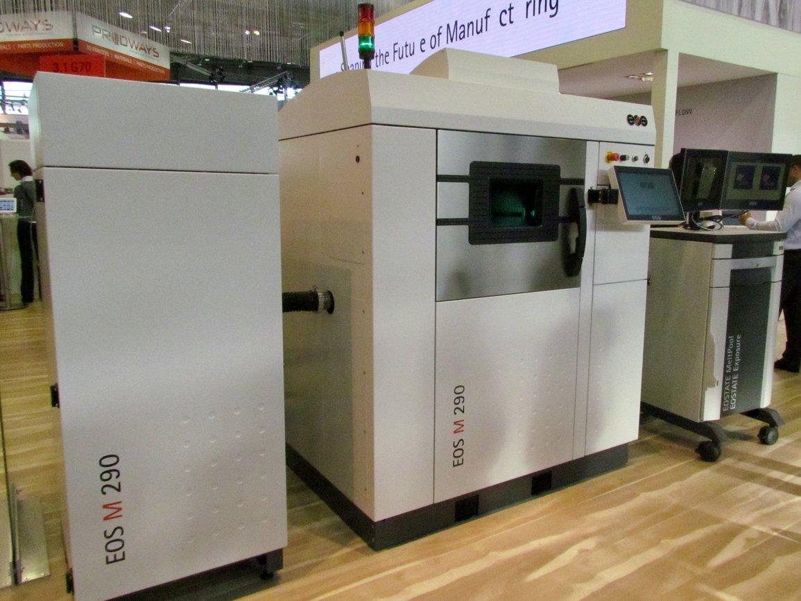 The EOS M 290 3D Metal Printer