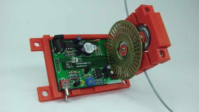 Inside the Filament Roller