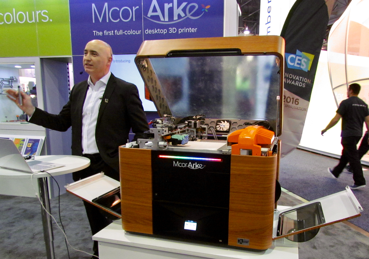 If MCOR Was Not Exhibiting At CES, Why Were They There?