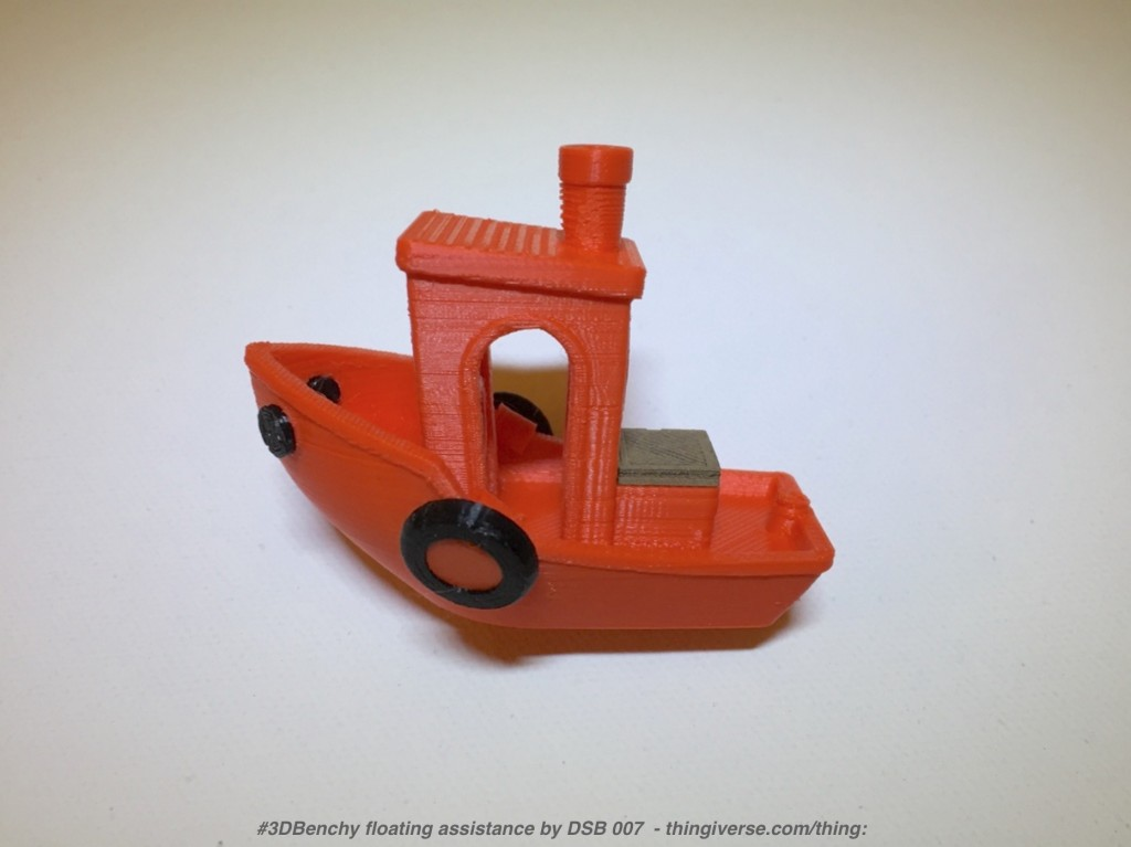 Float Your 3D Printed #3DBenchy