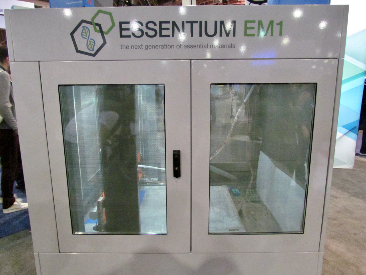 The Essentium EM1, used for development of the electromagnetic 3D printing process