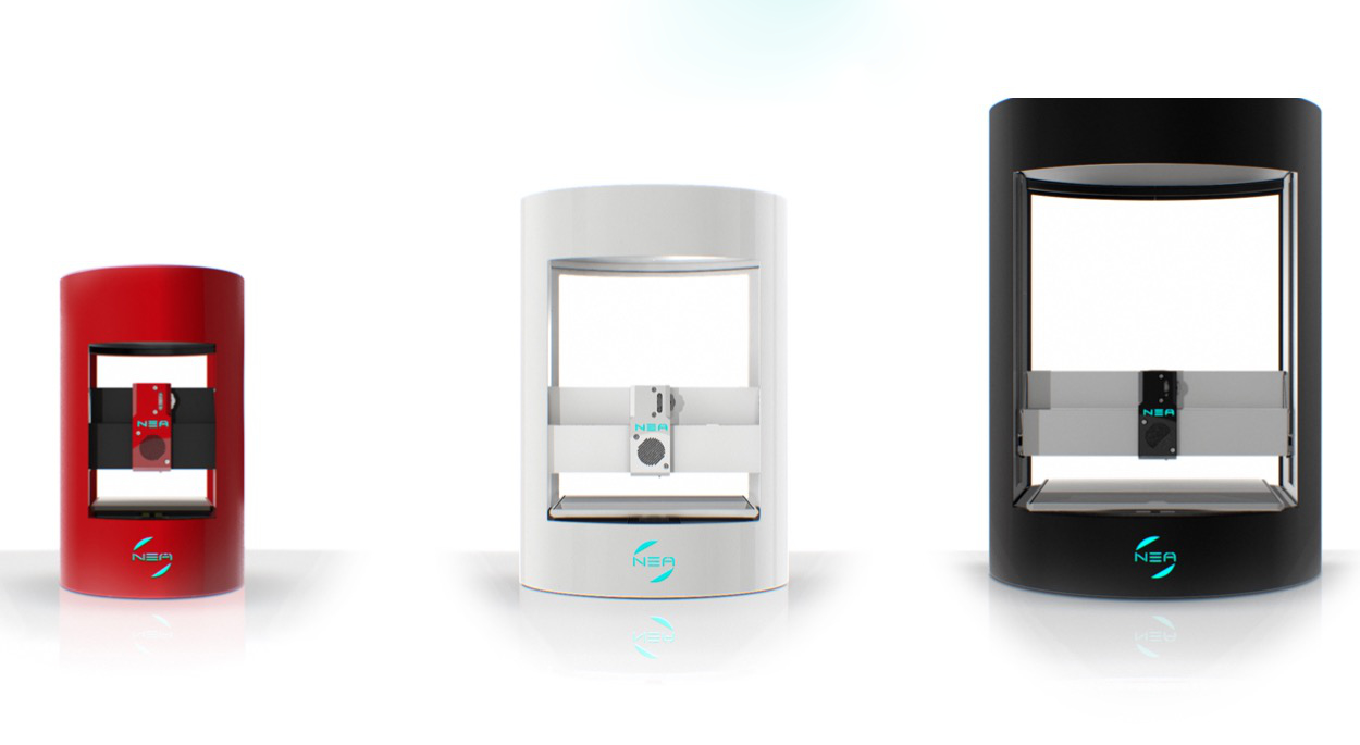 NEA 3D's ill-fated line of desktop 3D printers