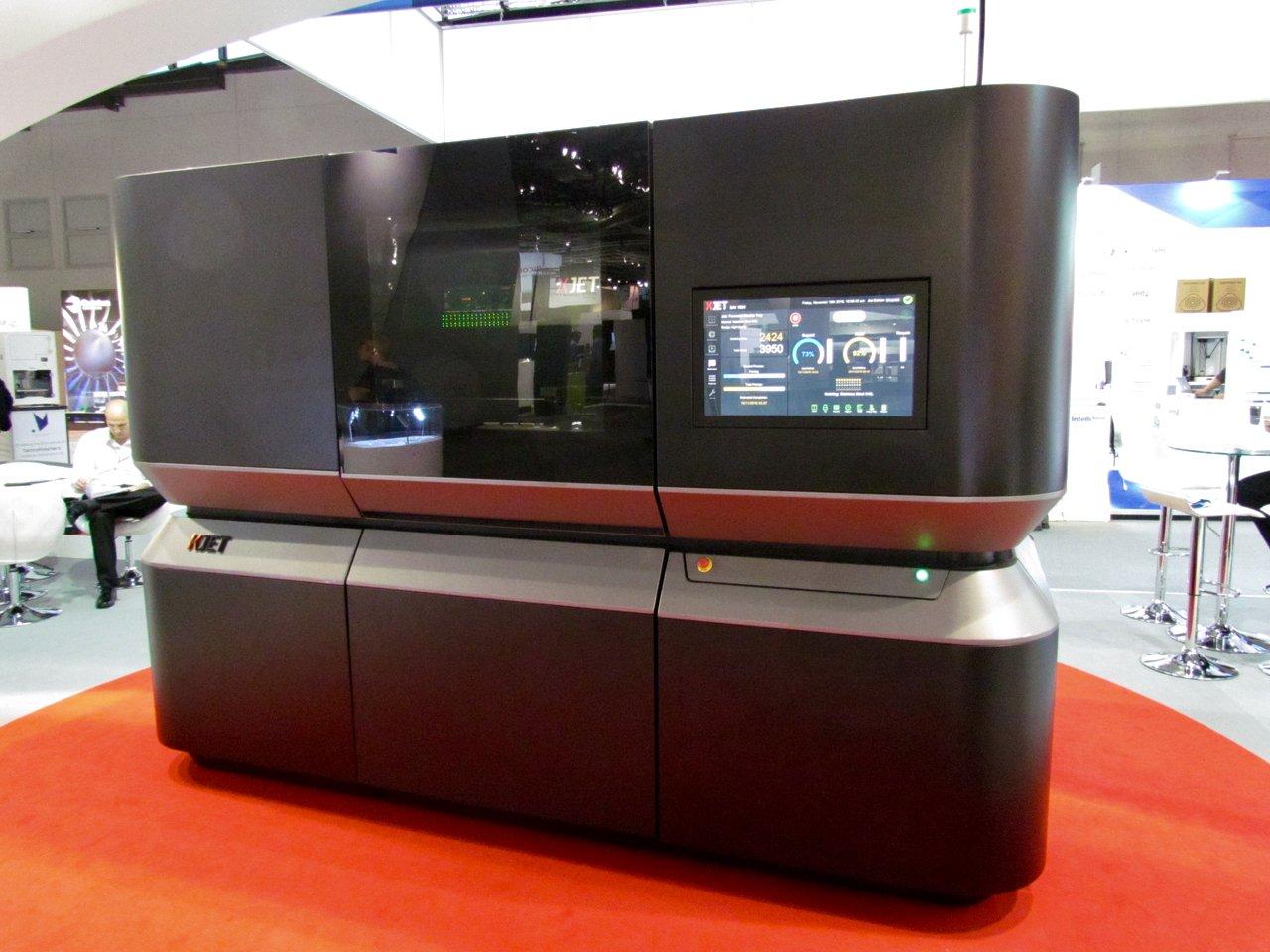 Xjet's 3D metal printer