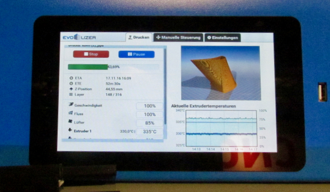 , EVO-tech's Professional 3D Printing System