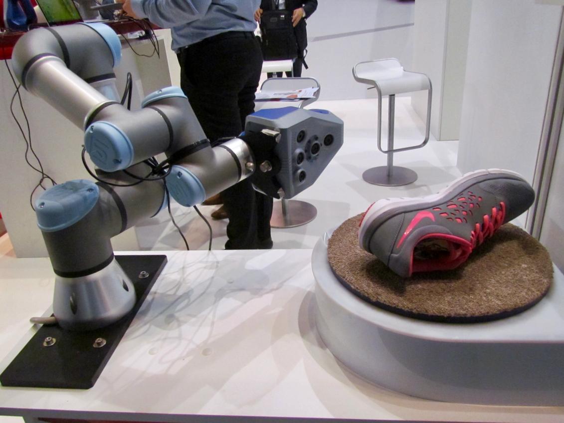 Artec 3D's Experimental 3D Scan Automation System
