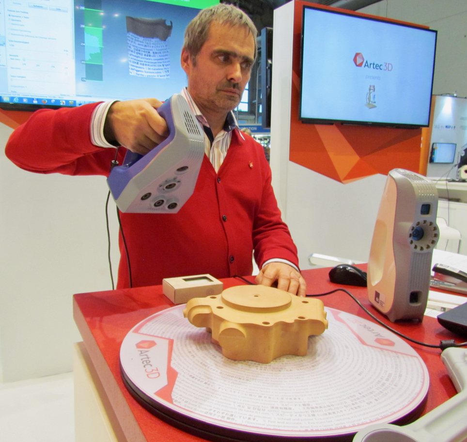 , Artec 3D Covers Both 3D Scanning Requirements