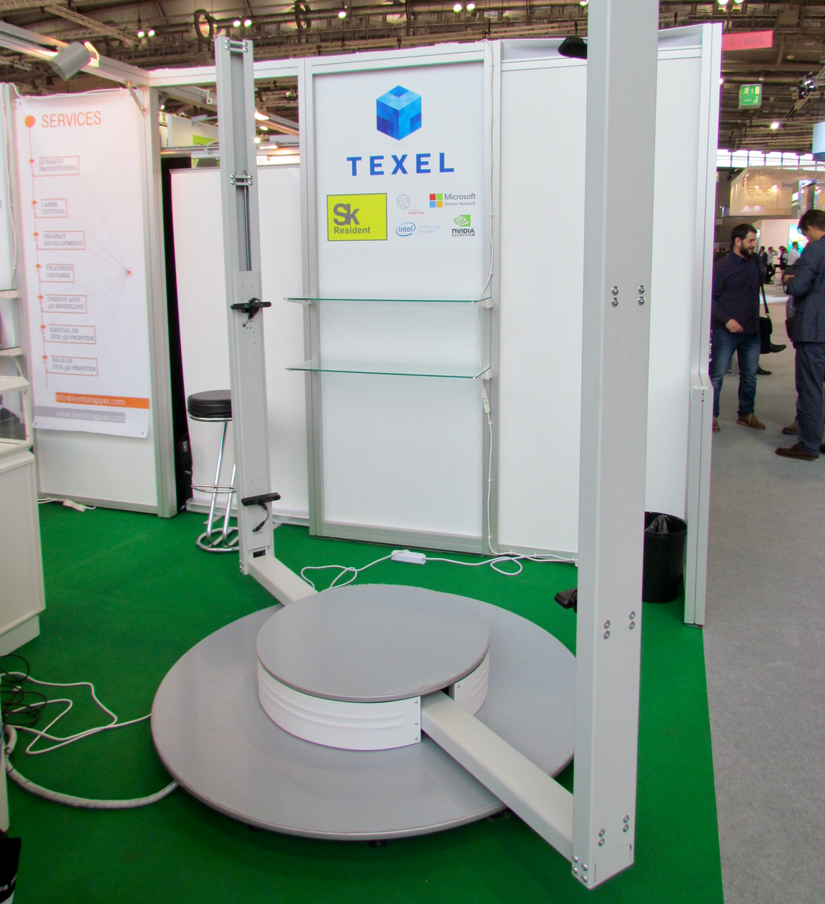 , Texel's Flexible – and Inexpensive 3D Body Scanner