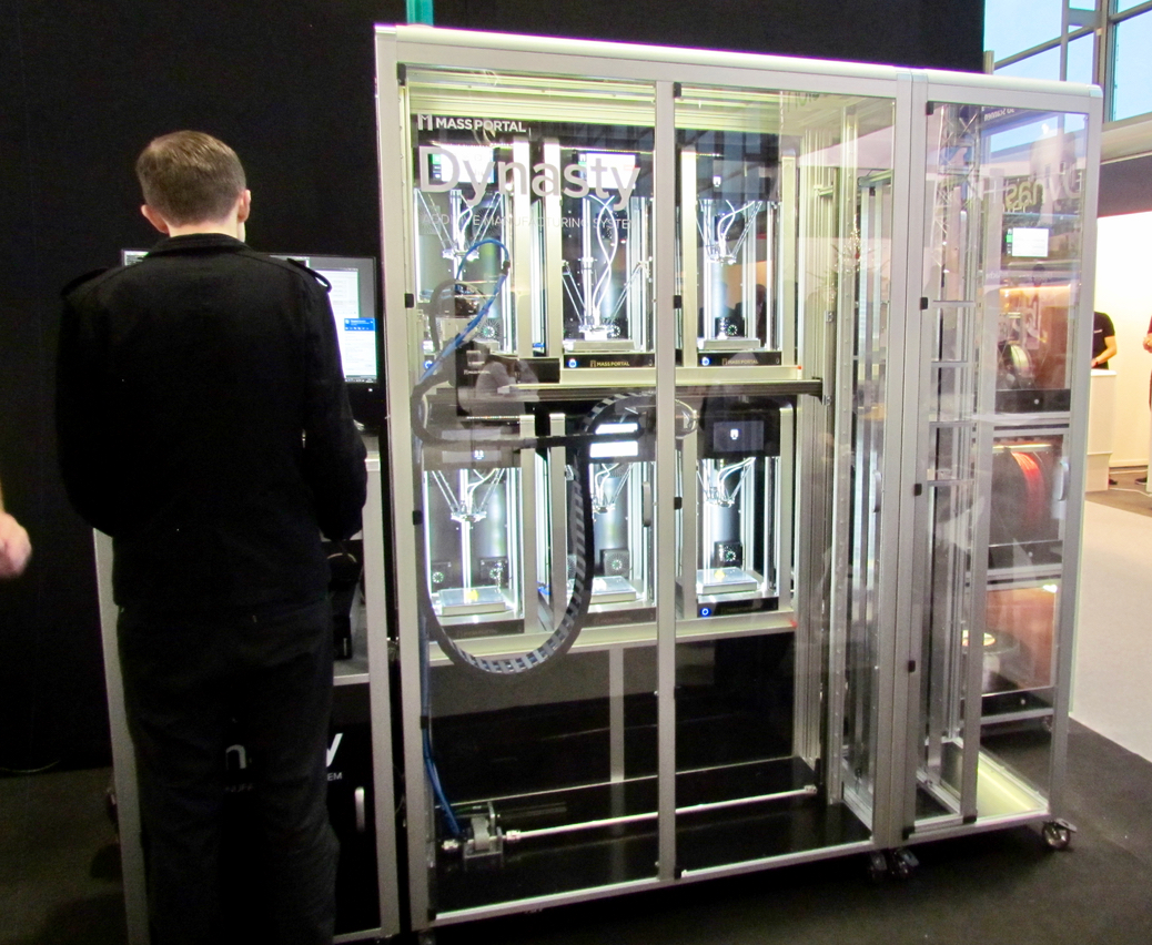 The Dynasty 3D Printing Rack System from Mass Portal