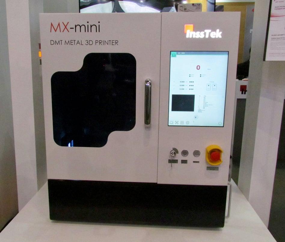 InssTek: Both Small and Very Large 3D Metal Printers