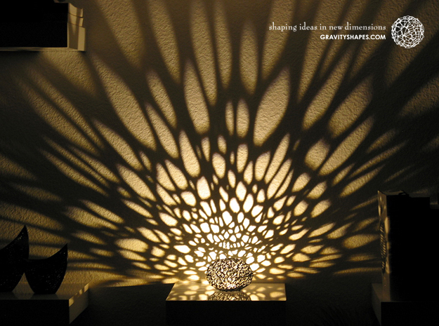 Design of the Week: Voronoi Pearl Light Lamp No. 1