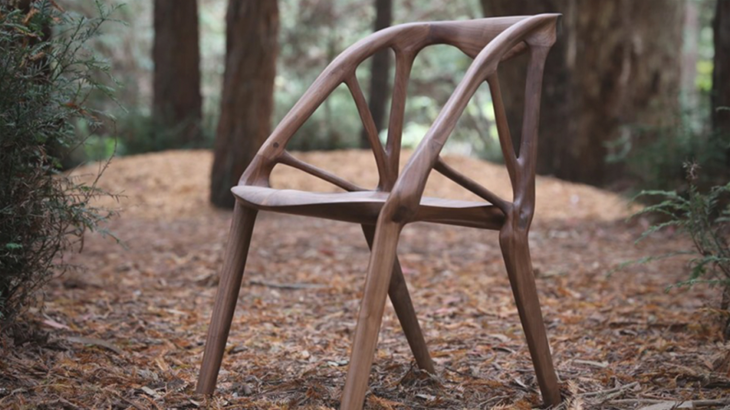 , This Insane Wood Chair Was Created Using Generative Design