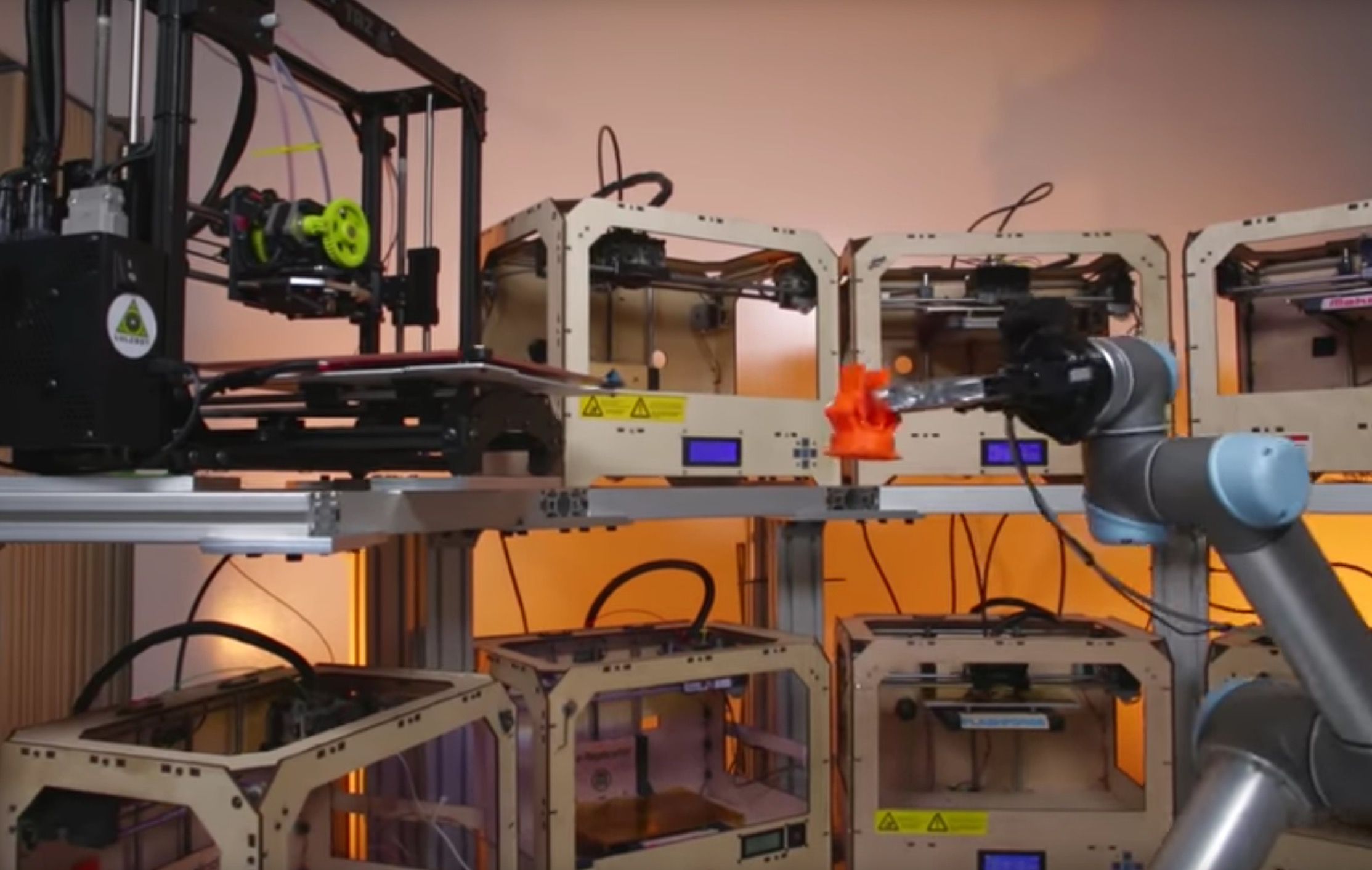 , Tend.ai Receives Funding for Their Robotic 3D Print Operator System