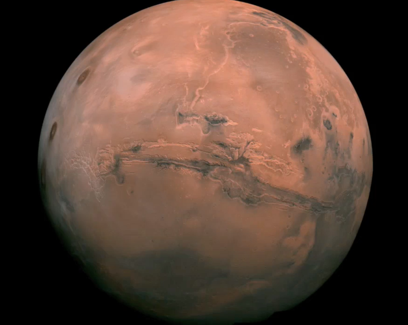 Mars, of course