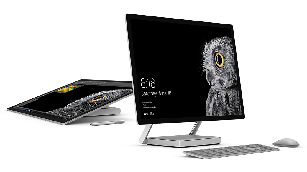 Microsoft Announces Surface Studio, Makes Working on a Monitor Look Cool