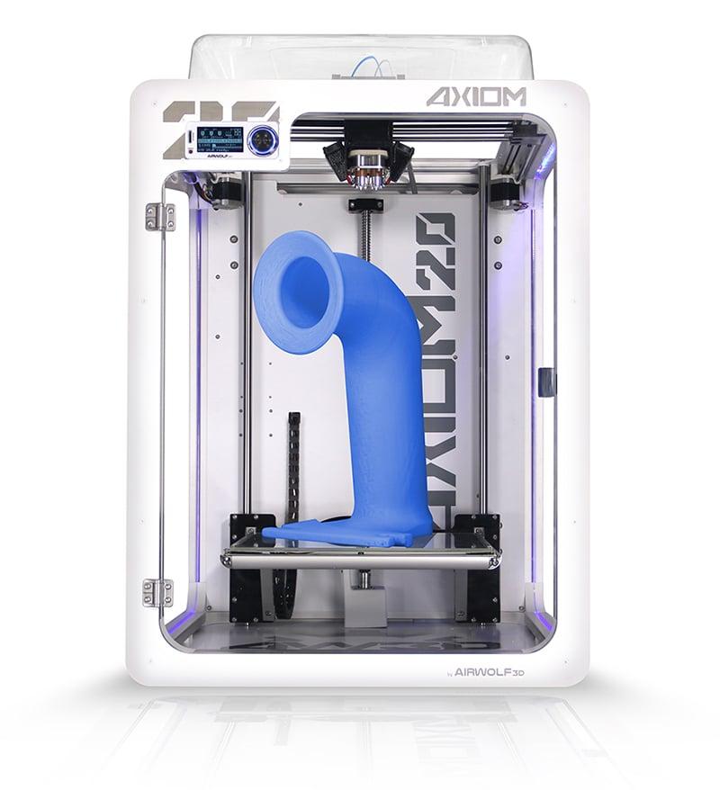The AXIOM 20 professional desktop 3D printer. Needs a banana for scale!