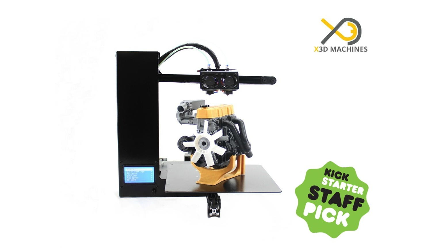 XMachine's Genesis 3D Printer Launch Seems to be Having Challenges