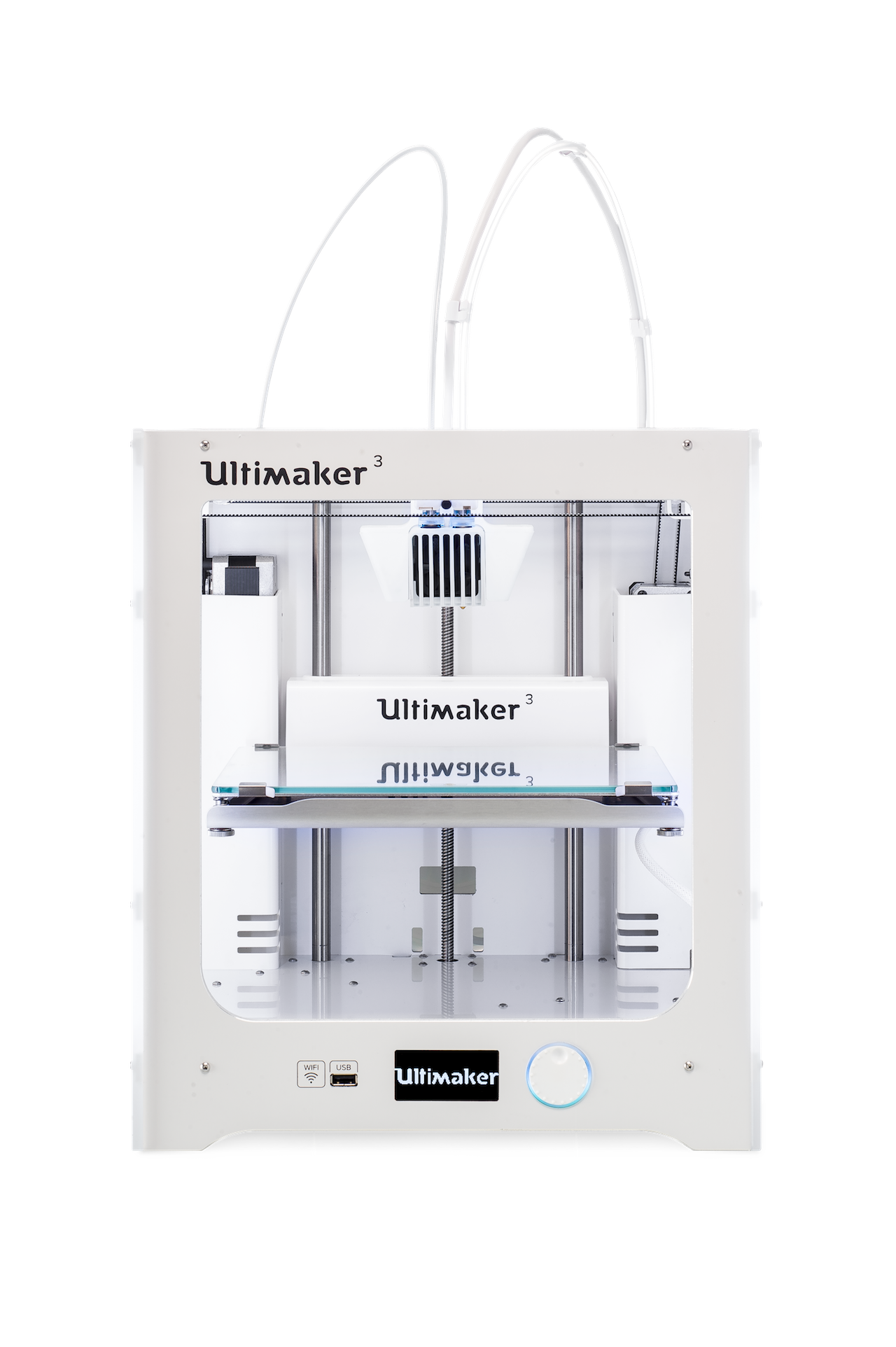 , Ultimaker's New Ultimaker 3 Dual-Extrusion 3D Printer